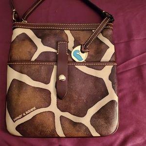 Dooney & Bourke giraffe print crossbody